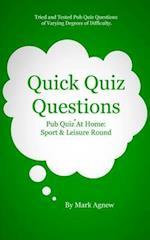 Quick Quiz Questions: Pub Quiz At Home