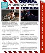 Criminology Studies (Speedy Study Guides)