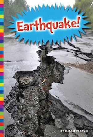 Bog, paperback Earthquake! af Elizabeth Raum