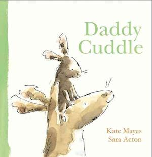 Bog, hardback Daddy Cuddle af Kate Mayes