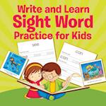 Write and Learn Sight Word Practice for Kids