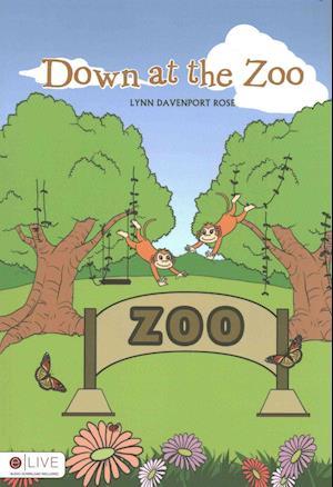 Bog, paperback Down at the Zoo af Rose Lynn Davenport