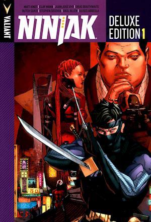 Bog, hardback Ninjak Deluxe Edition Book 1 af Matt Kindt