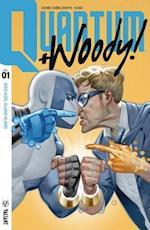 Quantum and Woody! 2017 1 - Kiss Kiss, Klang Klang af Daniel Kibblesmith
