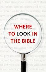 Where to Look in the Bible (Pack of 25) af Good News Publishers
