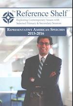 Representative American Speeches 2015-2016 (REFERENCE SHELF)