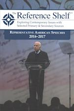 Representative American Speeches 2016-2017 (REFERENCE SHELF)