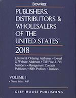 Publishers, Distributors & Wholesalers in the US 2018 (PUBLISHERS, DISTRIBUTORS, AND WHOLESALERS OF THE UNITED STATES)