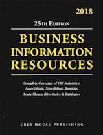 The Directory of Business Information Resources 2018 (Directory Of Business Iinformation Resources)
