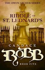 The Riddle of St. Leonard's (Owen Archer, nr. 5)