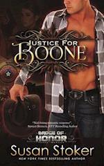 Justice for Boone af Susan Stoker