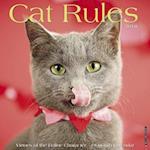 Cat Rules 2018 Wall Calendar