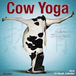 Cow Yoga 2018 Wall Calendar