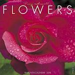 Flowers 2018 Wall Calendar