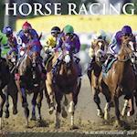 Horse Racing 2018 Wall Calendar