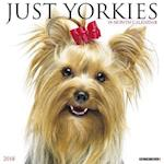 Just Yorkies 2018 Wall Calendar (Dog Breed Calendar)