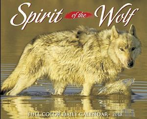 Bog, paperback Spirit of the Wolf 2018 Calendar af Willow Creek Press