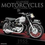 Classic Motorcycles 2018 Wall Calendar