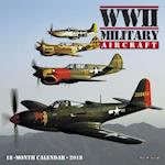 Wwii Military Aircraft 2018 Calendar