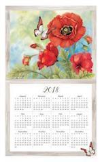 Nature's Palette 2018 Calendar Towel