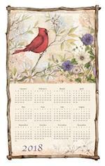 Spring Cardinals 2018 Calendar Towel