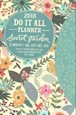 Secret Garden Do It All 17-Month 2018 Planner