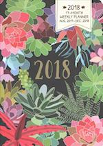 Succulents On-Time 2018 Weekly Planner