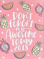 Be Awesome Today 17 Month Extra Large 2018 Flexi Planner