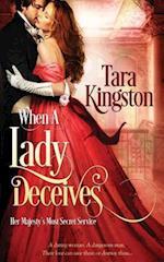 When a Lady Deceives af Tara Kingston