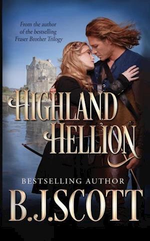 Bog, hæftet Highland Hellion af B.J. Scott