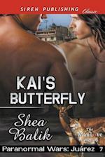 Kai's Butterfly [Paranormal Wars: Juarez 7] (Siren Publishing Classic ManLove)