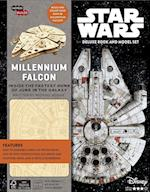 Star Wars Millennium Falcon Deluxe Book and Model Set (Incredibuilds)