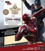 Incredibuilds Marvel's Captain America Civil War Iron Man 3d Wood Model (Incredibuilds)