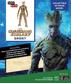 Bog, paperback Marvel - Guardians of the Galaxy Groot Book + 3d Wood Model af Sumerak Marc