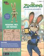 Incredibuilds Disney Zootopia Book and Model Set (Incredibuilds)