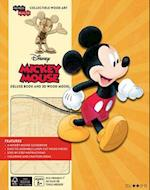 Disney Mickey Mouse Book and 3D Wood Model (Incredibuilds)