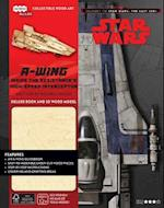 Journey to Star Wars: the Last Jedi A-wing Deluxe Book and Model Set (Incredibuilds, nr. 2)