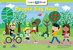 People Say Hello (Learn to Read)