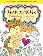 Mommy and Me Coloring Scripture (Color Yourself Inspired)