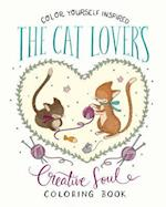 The Cat Lover's Creative Soul Coloring Book (Color Yourself Inspired)