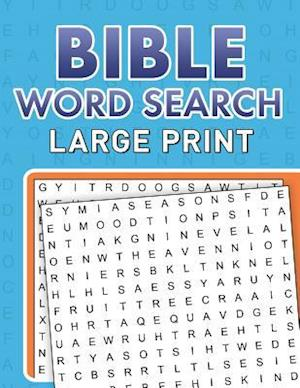 Bog, paperback Bible Word Searches Large Print af Compiled by Barbour Staff