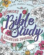 Women's Bible Study Coloring Journal (Color Yourself Inspired)