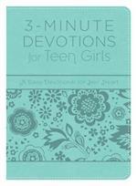 3-Minute Devotions for Teen Girls (3 Minute Devotions)