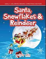 Santa, Snowflakes & Reindeer