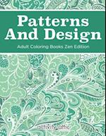 Patterns and Design Adult Coloring Books Zen Edition