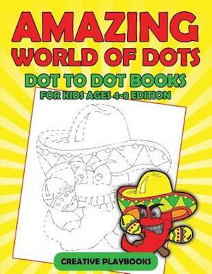 Bog, paperback Amazing World of Dots - Dot to Dot Books for Kids Ages 4-8 Edition af Creative Playbooks