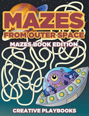 Bog, hæftet Mazes from Outer Space Mazes Book Edition af Creative Playbooks