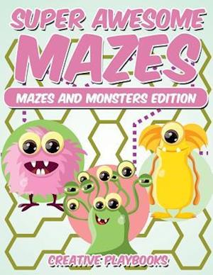 Bog, hæftet Super Awesome Mazes Mazes and Monsters Edition af Creative Playbooks