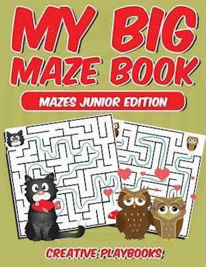 Bog, hæftet My Big Maze Book Mazes Junior Edition af Creative Playbooks