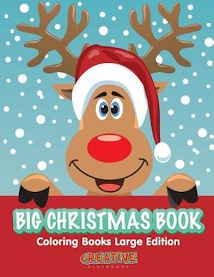 Bog, paperback Big Christmas Book Coloring Books Large Edition af Creative Playbooks